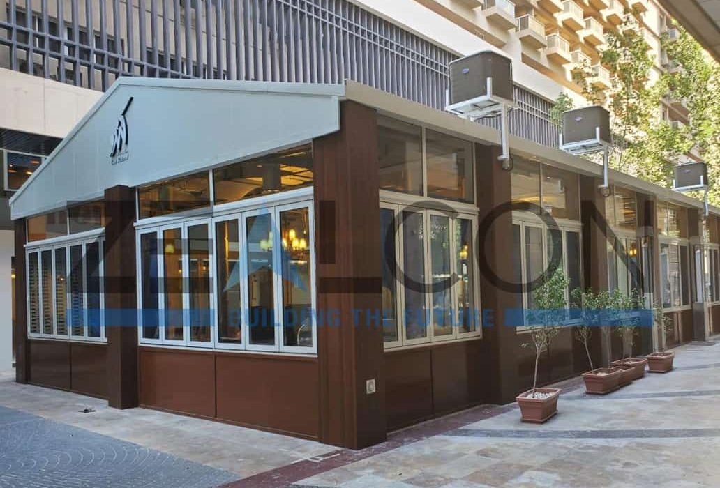 CANDO RESTAURANT DUBAI PRIVATE PROJECT