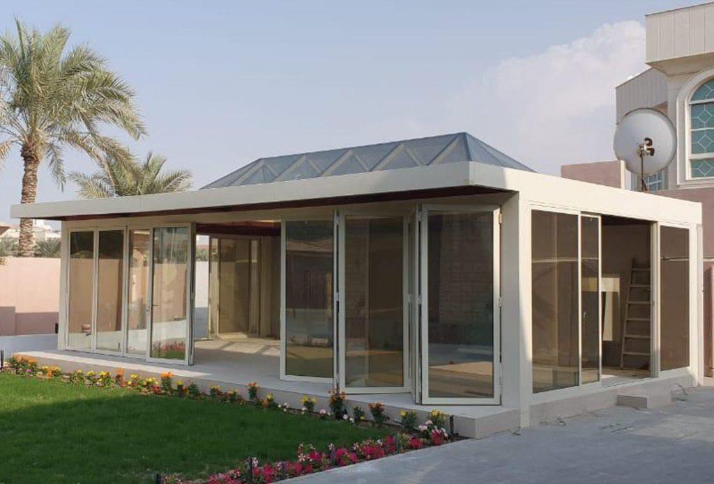 STANDALONE GLASS ROOM PRIVATE PROJECT AT AL TAWAR DUBAI