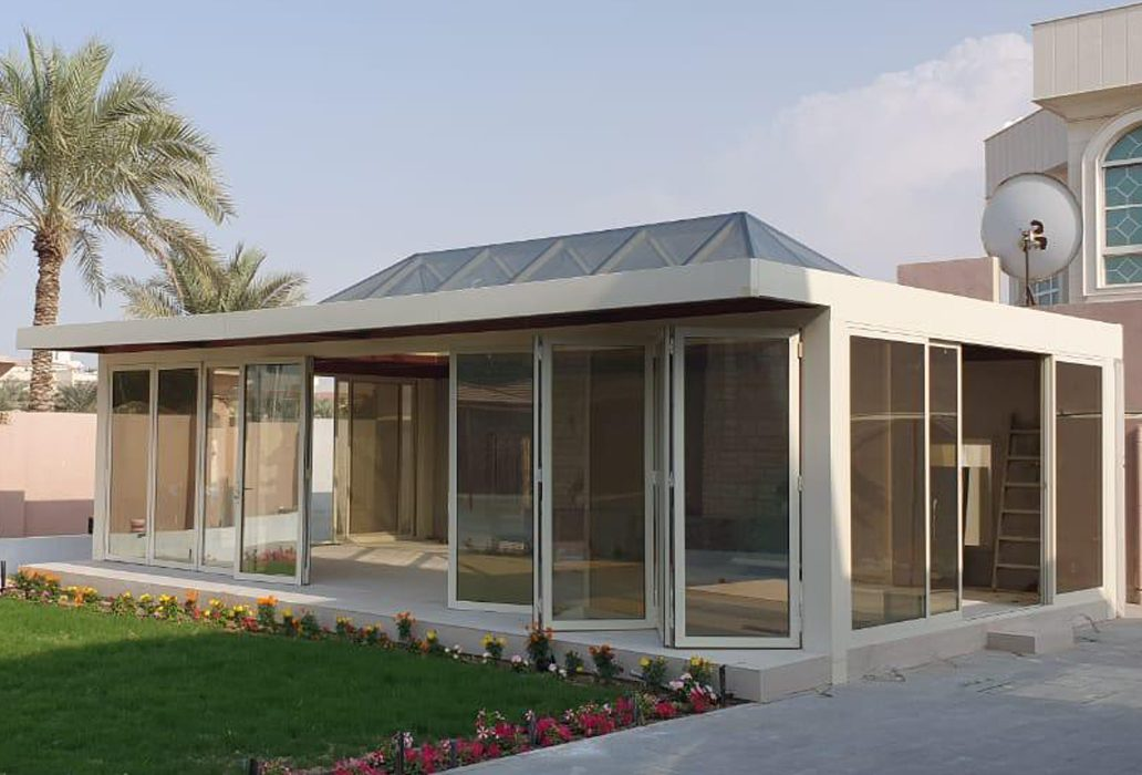 STANDALONE GLASS ROOM PRIVATE PROJECT AT AL TAWAR DUBAI