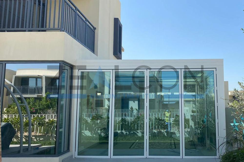 GLASS ROOM PRIVATE VILLA AT DUBAI