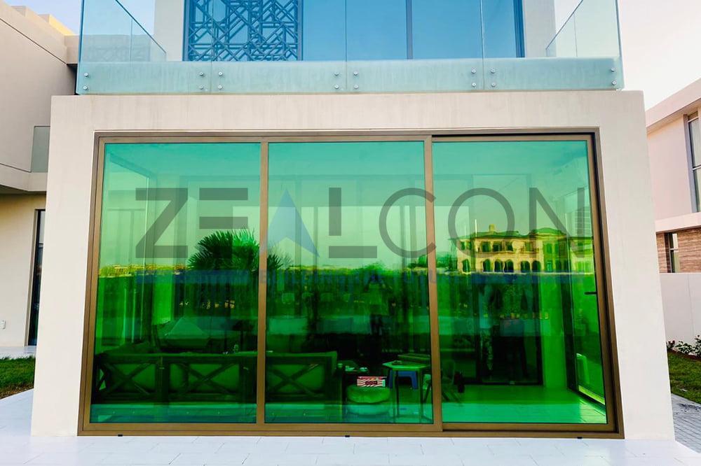 GLASS ROOM PRIVATE VILLA AT DUBAI COMPLETED