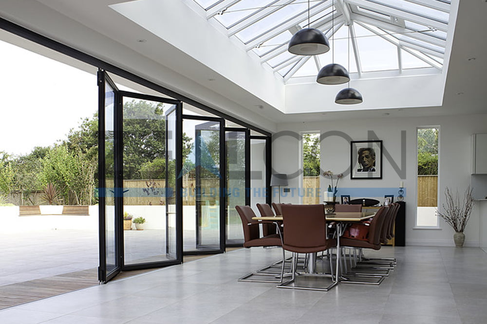 GLASS ROOM WITH SKYLIGHT PRIVATE VILLA PROJECT