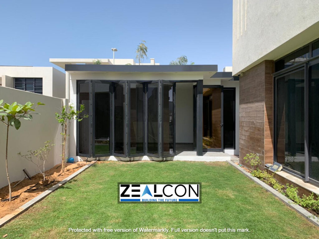 GLASS ROOM AT YAS ISLAND ABU DHABI PRIVATE VILLA PROJECT COMPLETED